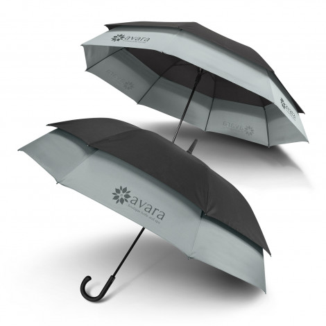 Swiss Peak Expandable Umbrella - Screen Printing Per Panel (one colour)