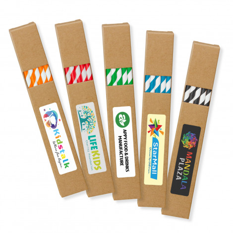Paper Drinking Straws - Printing Per Colour