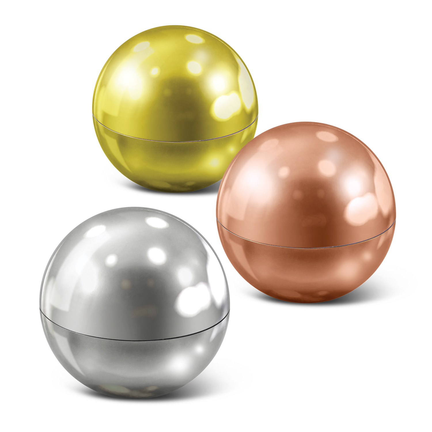 Metallic Lip Balm Ball - Pad Print