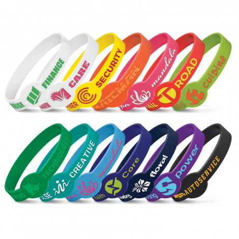 Xtra Silicone Wrist Band - Embossed - Embossing