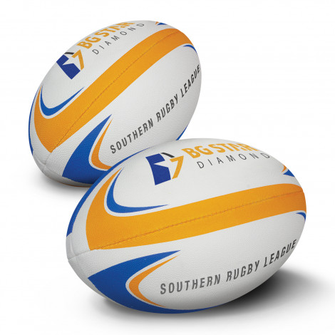 Rugby League Ball Pro - Printing Per Colour