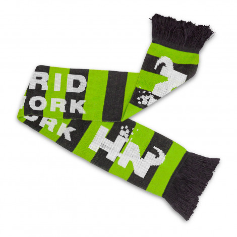 Fairbanks Custom Knitted Scarf - Knitted (up to four colours)