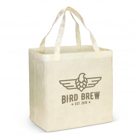 City Shopper Natural Look Tote Bag - Printing Per Col/Pos