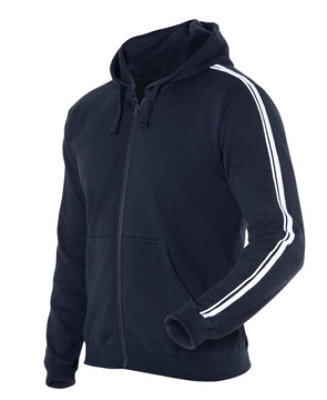 PDM P/C DUAL STRIPE F/ZIP HOOD, From 22.99