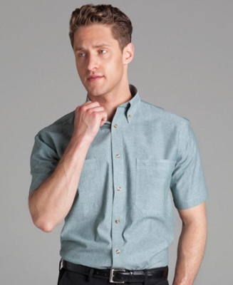JB'S Short Sleeve COTTON CHAMBRAY SHIRT, From 23.32