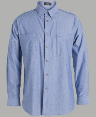 JB'S Long Sleeve COTTON CHAMBRAY SHIRT, From 24.88