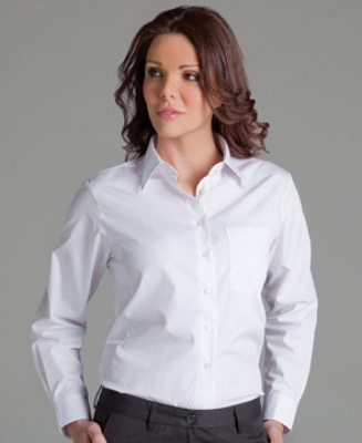 JB'S LADIES Short Sleeve POPLIN SHIRT
