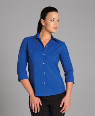 JB'S LADIES 3/4 POLYESTER SHIR