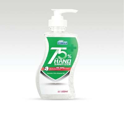 500ml Hand Sanitiser - 74% Alcohol