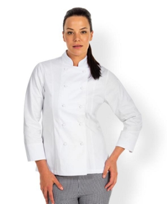 JB'S LADIES Long Sleeve CHEF'S JACKET