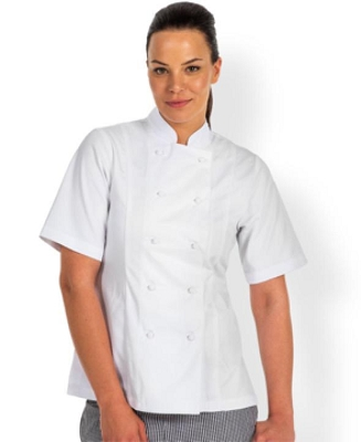 JB'S LADIES Short Sleeve CHEF'S JACKET, From 26.18