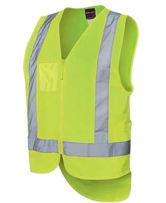 JB'S HI VIS DROP TAIL H PATTERN (D+N) VEST, From 8.37