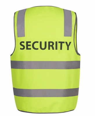 JB'S HI VIS D+N SAFETY VEST SECURITY, From 7.07