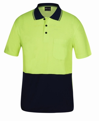 JB'S HI VIS Short Sleeve BAMBOO BACK POLO