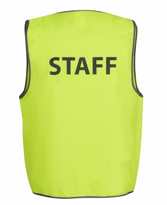 JB'S HI VIS SAFETY VEST STAFF, From 4.08