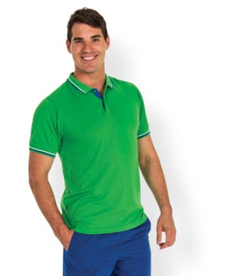 PODIUM C/TRAST STRIPE POLO
