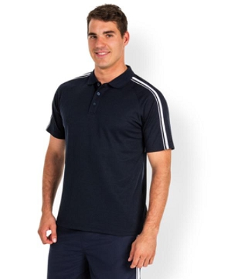 PODIUM KIDS  DUAL STRIPE POLO