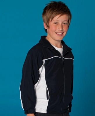 PODIUM KIDS CONTRAST WARM UP JACKET, From 22.99