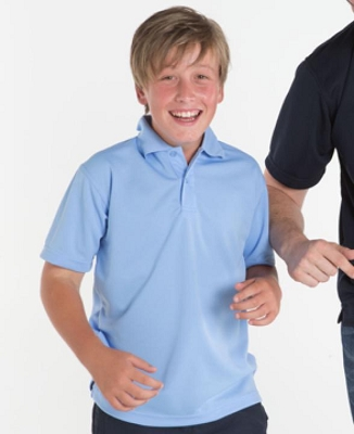 PODIUM KIDS Short Sleeve POLY POLO