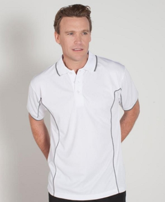 PODIUM Short Sleeve PIPING POLO