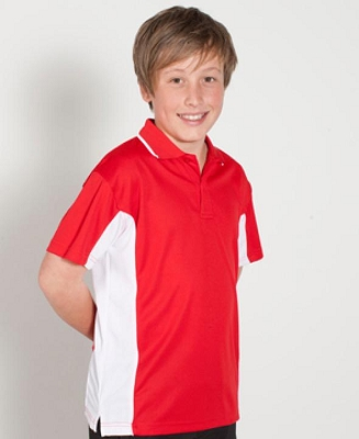 PODIUM KIDS CONTRAST POLO, From 11.29