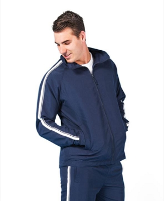 PODIUM  DUAL STRIPE WARM UP JACKET
