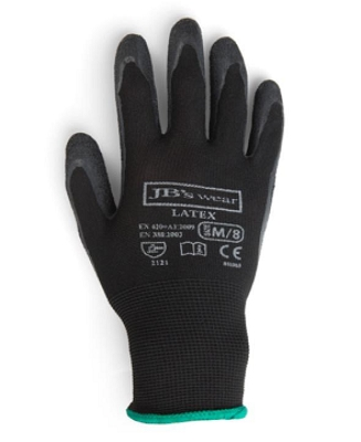 JB'S  BLACK LATEX GLOVE