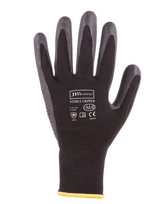 JB'S NITRILE GRIPPER GLOVE, From 3.49