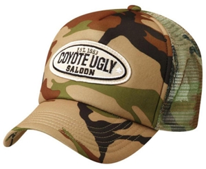 Camouflage Truck Cap, From $4.53