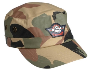 Camo Military Cap, From $5.12