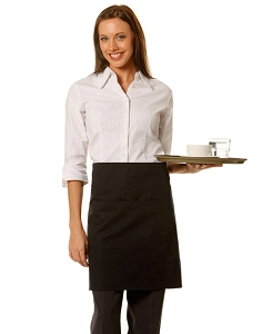 Short waist apron w86xh50cm, From $6.61