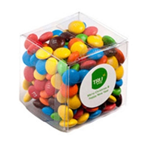 Cube 60G M&Ms - Includes Colour Sticker, From $2.52