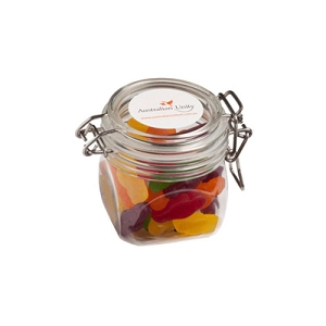 Jelly Babies in Canister 170G  - Includes 1 Colour Pad Print
