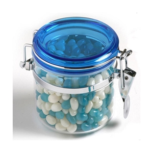 Jelly Beans in Canister 300G (Mixed Colours or Corporate Colours) - Includes Colour Sticker, From $7.21