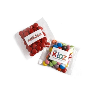Choc Beans 50G (Mixed Colours) - Includes Colour Sticker on bag