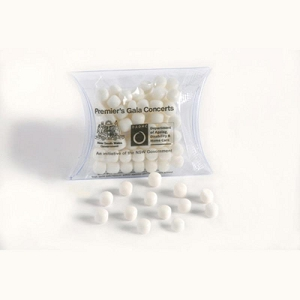 Mints in PVC Pillow Pack 25G - Includes Colour Sticker, From $1.5
