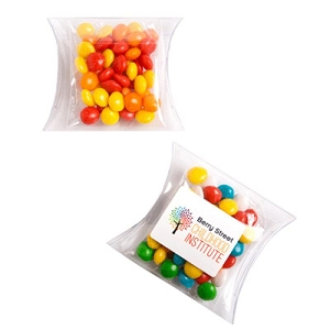 Chewy Fruits (Skittle Look Alike) in PVC Pillow Pack 50G - Includes Colour Sticker, From $1.95