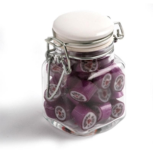 Christmas Rock Candy in Clip Lock Jar 65G - Includes Unbranded, From $4.94