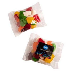 Mixed Lollies Bag 100G - Includes Colour Sticker on bag