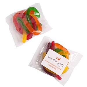 Snakes 50G - Includes Colour Sticker, From $1.4