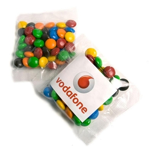 Mini M&Ms Bags 50G  - Includes Colour Sticker on bag, From $1.53
