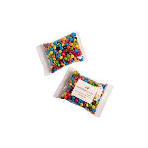 Mini M&Ms Bags 100G  - Includes Colour Sticker, From $2.76