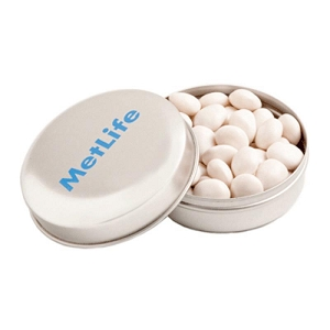Candle Tin Filled with Mints or Musks 50G - Includes Colour Sticker, From $2.39