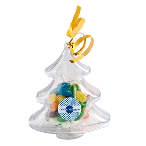 Acrylic Trees Filled with Jelly Beans 50G - Includes Colour Sticker