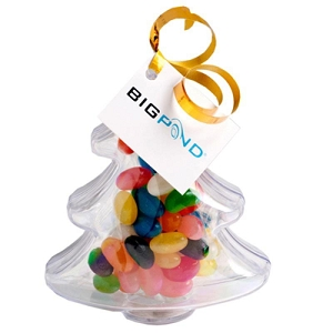 Acrylic Trees Filled with Jelly Beans 50G - Includes Tag