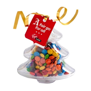 Acrylic Trees Filled with M&Ms 50G - Includes Tag, From $3.3