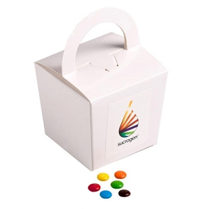 Coloured Noodle Box Filled with M&Ms 100G - Includes Colour Sticker, From $3.82