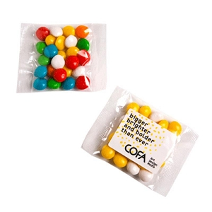 Chewy Fruits (Skittle Look Alike) Bags 25G - Includes Colour Sticker on bag, From $0.92