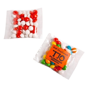 Chewy Fruits (Skittle Look Alike) Bags 50G - Includes Colour Sticker on bag, From $1.06