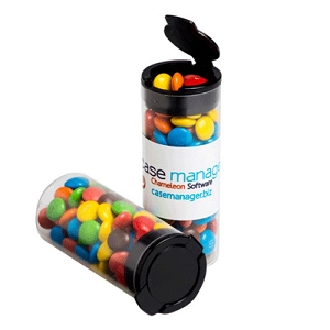 Flip Lid Tube Filled with M&M'S 35G - Includes Full Colour Colour Sticker, From $1.78